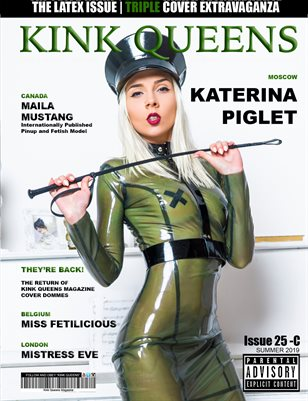 KINK QUEENS MAGAZINE | ISSUE 25-C | SUMMER 2019