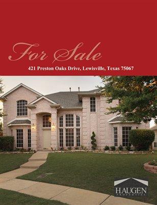 Haugen Properties -  421 Preston Oaks Drive, Lewisville, TX 75067