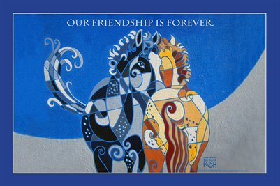 Friendships Last Forever Poster
