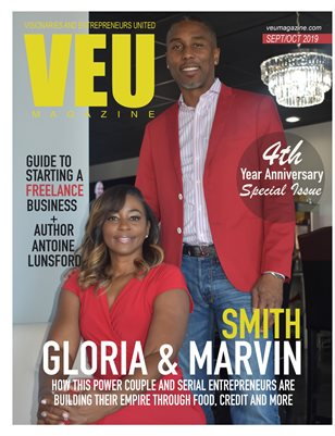 VEU MAGAZINE SEPT/OCT 2019 GLORIA & MARVIN SMITH
