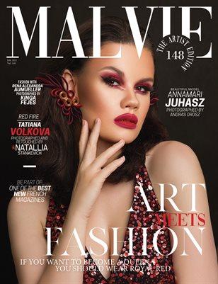 MALVIE Magazine The Artist Edition Vol 148 February 2021