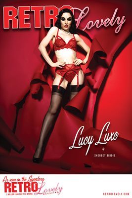 Lucy Luxe Cover Poster