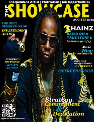 TheShowcase Magazine  AUG|SEP 2013 Featured Artist Edition