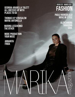 MARIKA MAGAZINE FASHION (ISSUE 673 - MARCH)