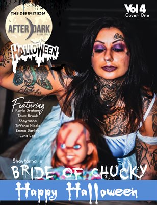 TDM Afterdark:Shaytanna Halloween 2020 Vol.4  Cover 1