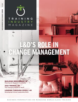 November/December 2020 | L&D's Role In Change Management
