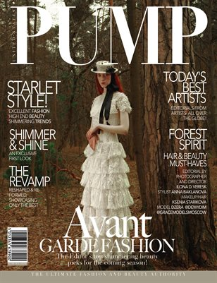 PUMP Magazine - The Avant Garde Fashion Edition - August 2018