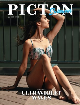 Picton Magazine AUGUST 2019 Swimwear N213 Cover 2