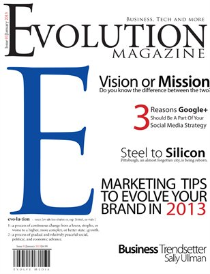 Evolution Magazine January 2013