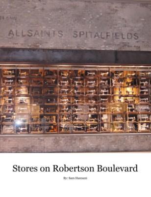 Store on Robertson Boulevard