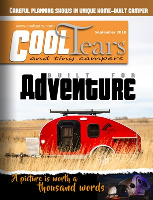 Cool Tears & Tiny Trailer Magazine - Sept 2018