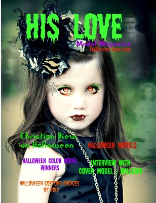 His Love Model Magazine (Halloween Issue) 2012