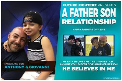 Giovanni Fenuta Father Son Poster