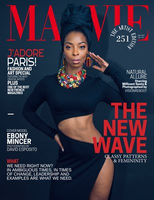 MALVIE Magazine The Artist Edition Vol 251 July 2021