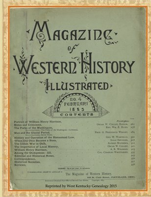 Magazine of Western History Illustrated No.4 February 1885