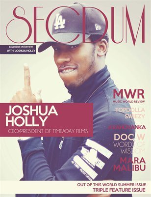 Secdum Magazine: OUT OF THIS WORLD (#3)- Summer Issue 8