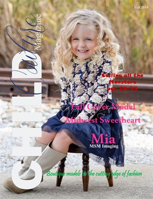 Child Couture Fall Issue 2014