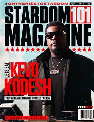 STARDOM101 MAGAZINE KEVO KODESH FEB 2021
