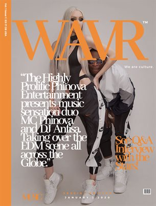 Phinova&Anfisa WAVR Mag Special Edition January 20' Issue (Printed Magazine)