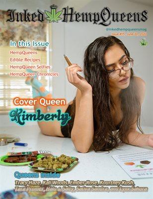 Inked HempQueens Magazine ~ Issue 15 ~ Kimberly