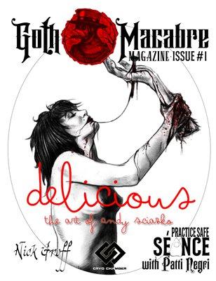 Goth Macabre Magazine: Issue #1