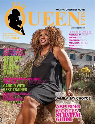 Queen Size Magazine: Aspiring Models Survival Guide