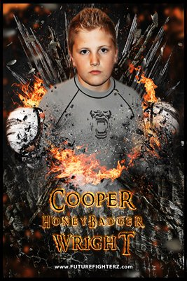 Cooper Wright On FI-YA Poster