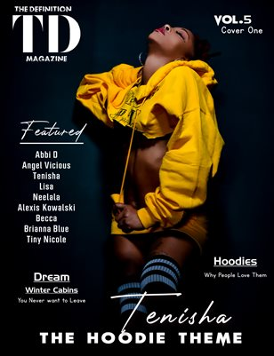 The Definition: Tenisha The Sweater/Coat/Hoodie Edition vol5 cover 1 Jan.2021
