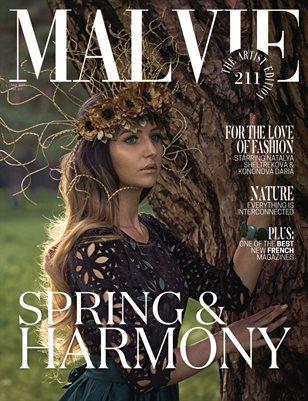 MALVIE Magazine The Artist Edition Vol 211 May 2021
