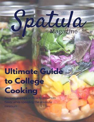 Spatula: College Cooking (Graphic Design Final)