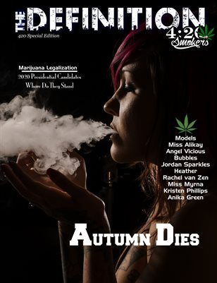 The Definition420: Issue 1:Autumn Dies cover