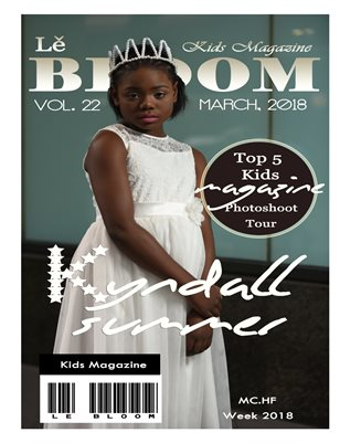 Le Bloom Kids Magazine Kyndall Summer