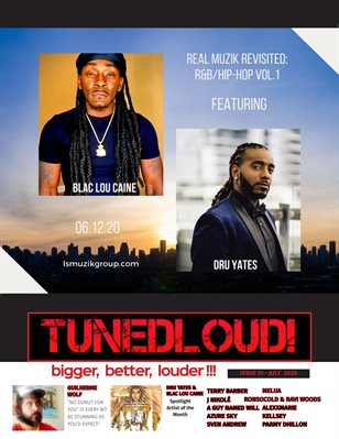 TunedLoud Magazine July 2020