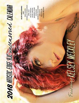 Uncensored 2018 calendar featuring Kelsey