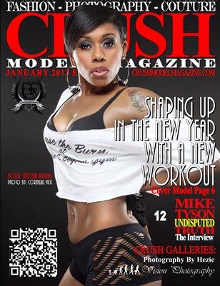 CRUSH Model Magazine - January 2013 Edition