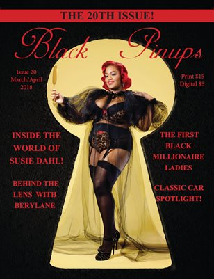 Black Pinups Issue 20
