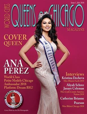 World Class Queens of Chicago Magazine with Ana Perez