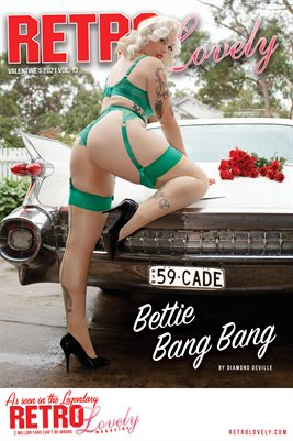 Bettie Bang Bang Valentine's 2021 Cover Poster
