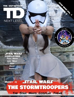 TDM Cosplay Mandy/Andrea Star Wars Vol.2  Cover2