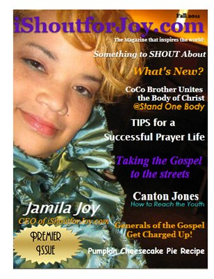 iShoutforJoy Magazine - Premier Edition