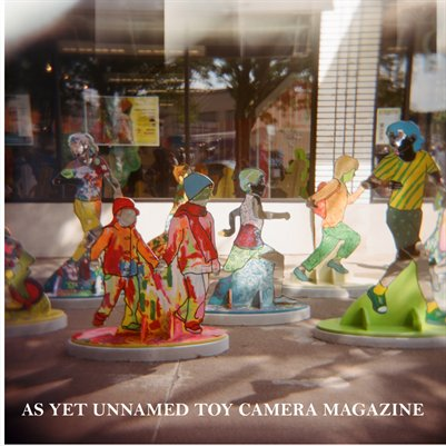 As Yet Unnamed Toy Camera Magazine:  Fall 2013