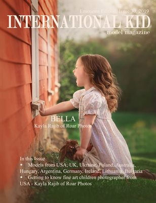 International Kid Model Magazine Issue 30, Emotions Edition