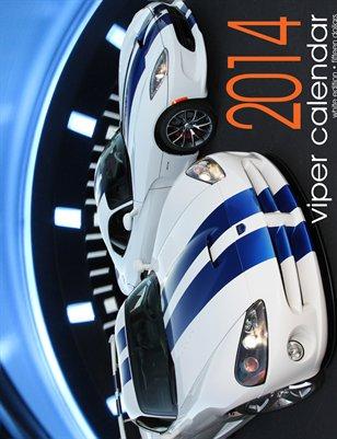 2014 Viper Calendar White Edition (STANDARD)