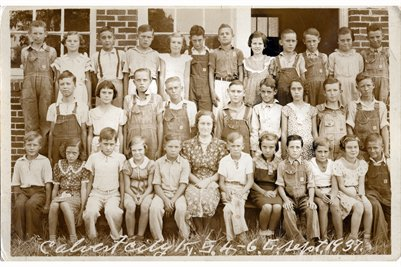1937 Calvert City 4-6 Grades, Marshall County, Kentucky