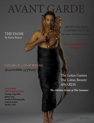 AVANT GARDE Magazine July Issue 2014