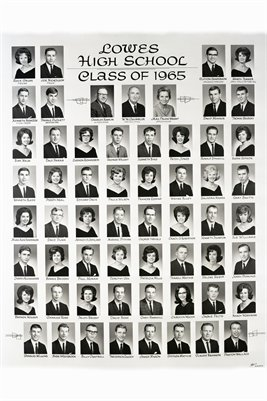 1965 Lowes High School Seniors, Graves County, Kentucky