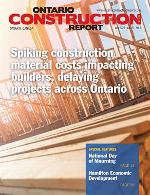 Ontario Construction Report (May 2021)