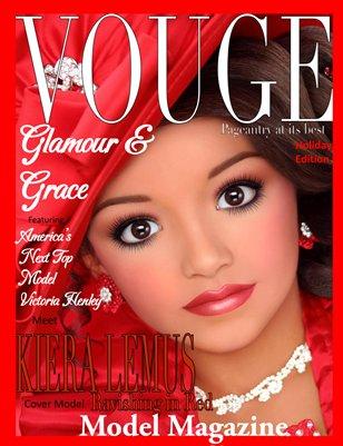 Glamour & Grace Model Magazine Holiday Edition