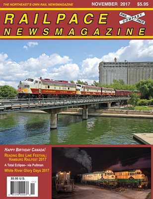 NOVEMBER 2017 Railpace Newsmagazine