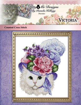 Victoria Counted Cross Stitch Pattern